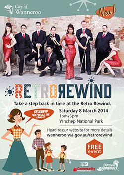 Retro Rewind Flyer